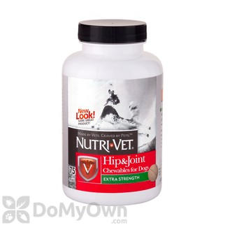 Nutri-Vet Hip and Joint Extra Strength Chewables