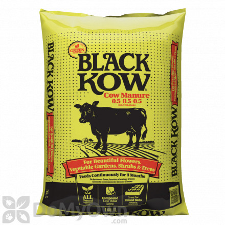 Black Kow Composted Cow Manure 0.5 - 0.5 - 0.5