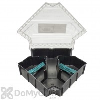 JT Eaton Rat Fortress Bait Stations Clear Lid - CASE (6 stations)