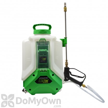 FlowZone Cyclone 4 Gallon Multi Use Continuous Pressure 18V 2.6Ah Lithium Ion backpack Sprayer