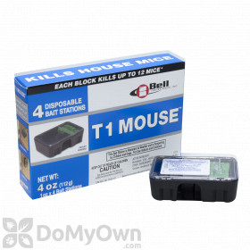 T1 Mouse Pre-Baited Disposable Bait Stations (4 Pack)