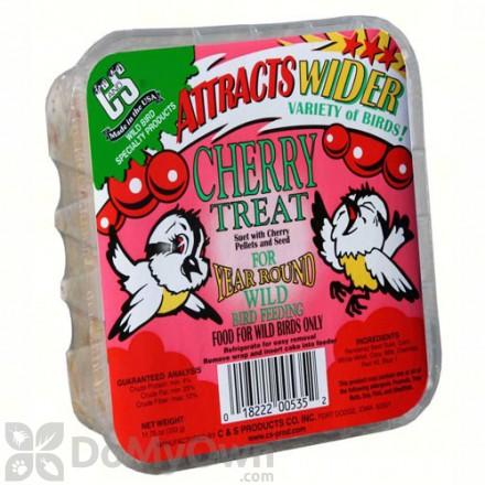C&S Products Cherry Treat Suet 535 (12 cakes)