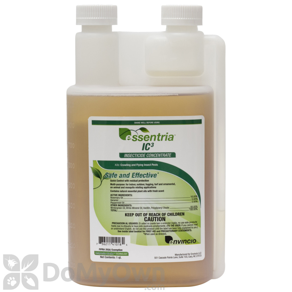 Essentria Ic3 Insecticide Concentrate Natural Pest