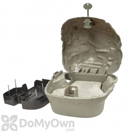 JT Eaton Rodent Rock 2G Tamper - Resistant Bait Station with Paver
