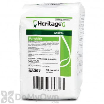 Heritage G Fungicide - 10 lb cube