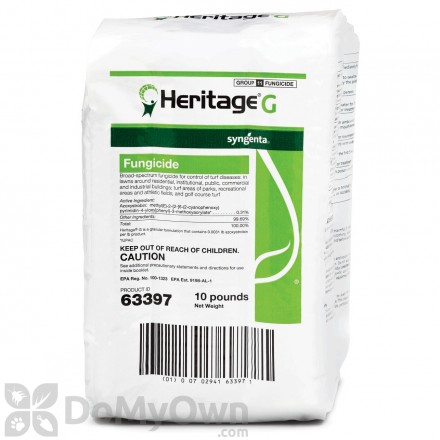 Heritage G Fungicide 10 lbs.