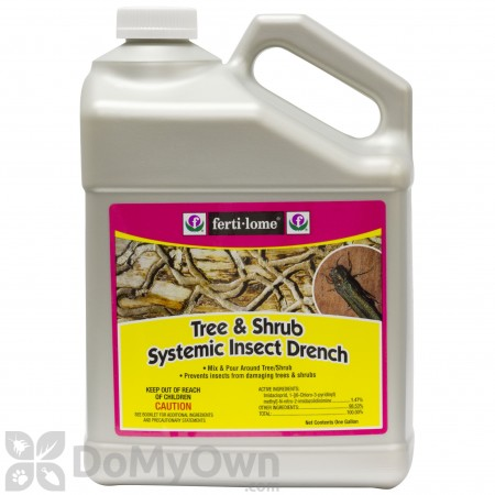 Ferti-lome Tree and Shrub Systemic Insect Drench - Gallon