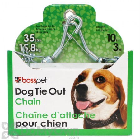 Boss Pet Medium Dog Twist Chain with Swivel Snap