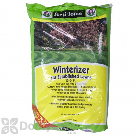Ferti-Lome Winterizer for Established Lawns 10-0-14