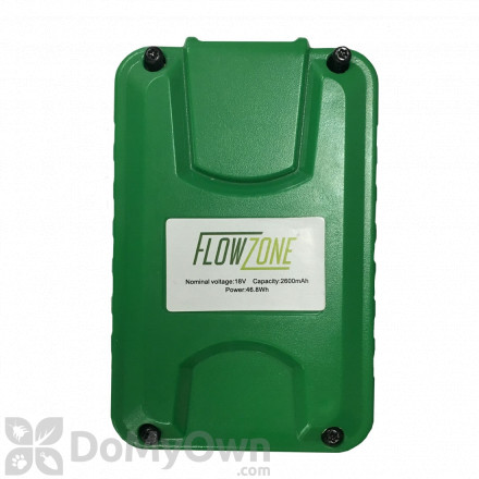 Battery for FlowZone Cyclone 4 Gallon Multi Use Continuous Pressure 18V 2.6Ah Lithium Ion backpack Sprayer