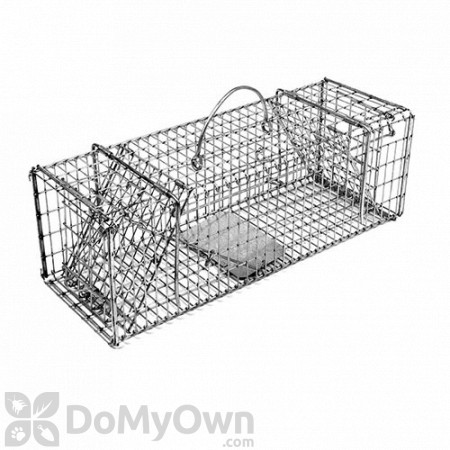 Tomahawk Collapsible Live Trap with Two Trap Doors Model 200 (Chipmunk & Gopher size)