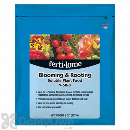 Ferti-Lome Blooming and Rooting Soluble Plant Food 9-58-8