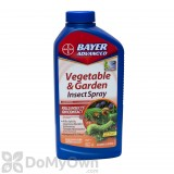 Bayer Advanced Vegetable and Garden Insect Spray - Concentrate - CASE (8 quarts)