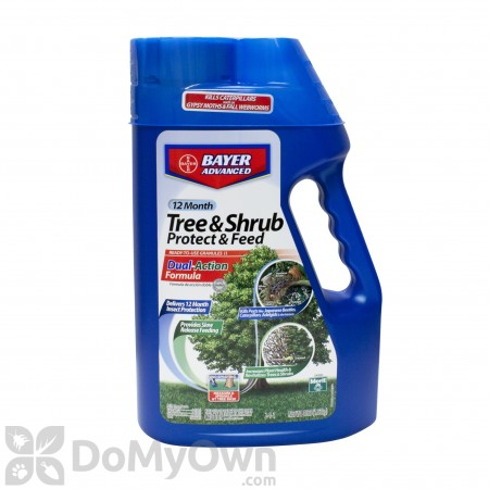 Bayer Advanced 12 Month Tree and Shrub Protect and Feed II Granules