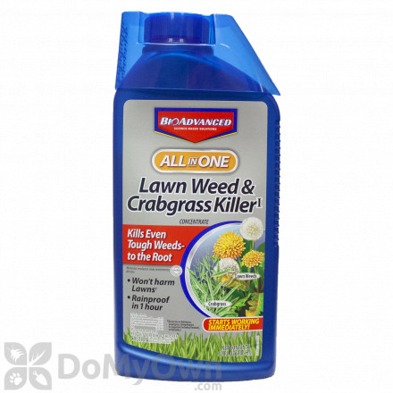 Bio Advanced All-In-One Lawn Weed and Crabgrass Killer