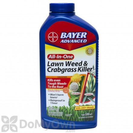 Bayer Advanced All-In-One Lawn Weed and Crabgrass Killer