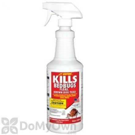 JT Eaton Kills Bed bugs, Fleas, Brown Dog Ticks Spray (204-O)