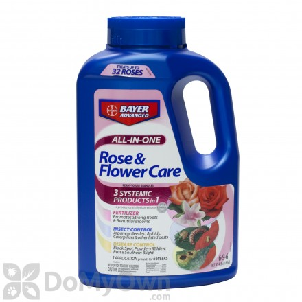 Bayer Advanced All-In-One Rose and Flower Care - Granules