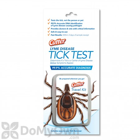 Cutter Lyme Disease Tick Test Travel Kit