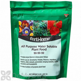 Ferti-lome All Purpose Water Soluble Plant Food 20 - 20 - 20