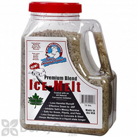 Bare Ground Coated Granular Ice Melt