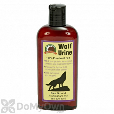 Bare Ground Just Scentsational Wolf Urine Predator Scent