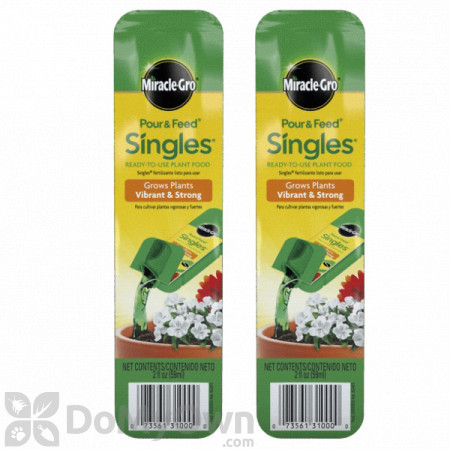 Miracle-Gro Pour and Feed Singles (2 Pack)
