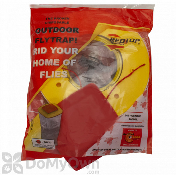 Single Trap Genuine Red Top Fly Trap