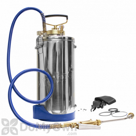 Airofog Pro 1.5 Gallon Stainless Steel Sprayer with 9 in. Wand and 4 Way Tip (501-505-081)