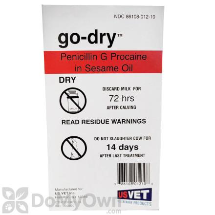 Hanfords US Vet Go - Dry Cow Mastitis Treatment