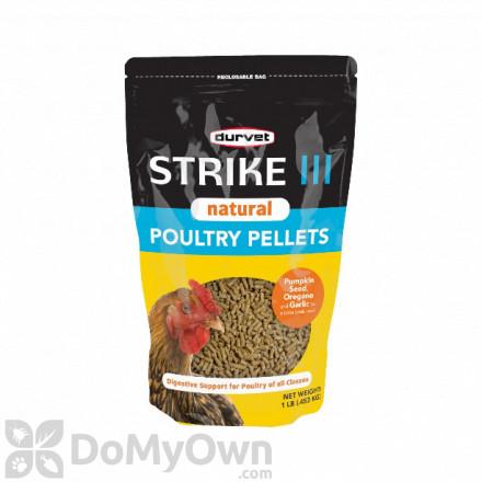 Durvet Strike III Natural Poultry Pellets