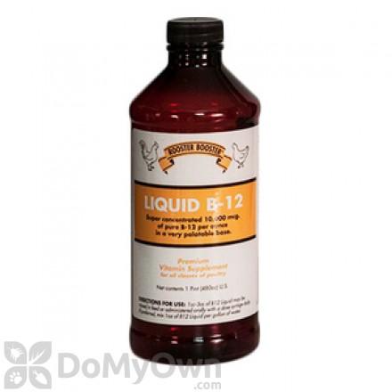 Rooster Booster Liquid B 12 Vitamin Supplement