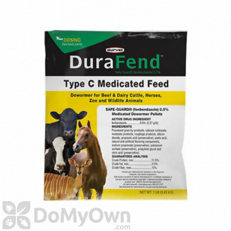 Durvet DuraFend 0.5% Multi - Species Medicated Dewormer