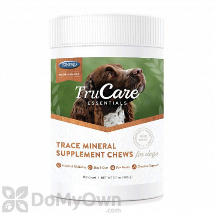 TruCare Essentials Trace Mineral Supplement Chews for Dogs - 180 ct