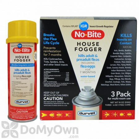 Durvet No - Bite IGR House Fogger (3 Pack)