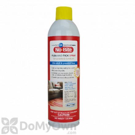 Durvet No - Bite IGR Flea and Tick Spray for Carpets and Furniture