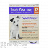 Durvet Triple Wormer Puppy and Small Dogs - 12 ct