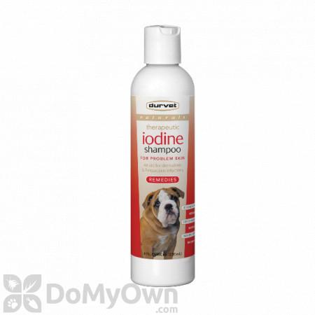 Durvet Naturals Remedies Iodine Shampoo