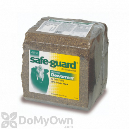 Safe - Guard 20% Protein Medicated Deworming Block