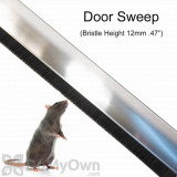 Burrat Samurai Armor Door Sweep - Rats (BRSA - 1000 - 12)