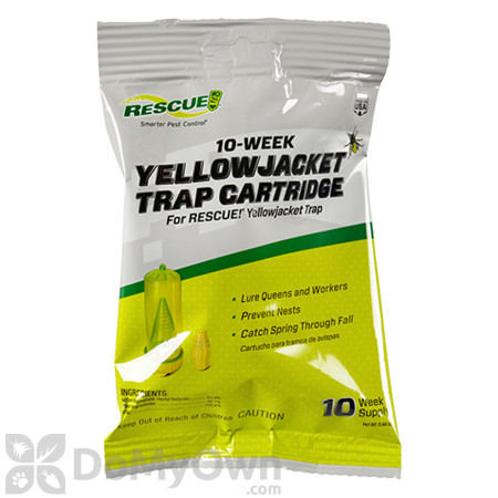 Replacement Attractant Cartridge for the Rescue Reusable Yellowjacket Trap