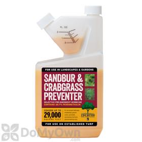 Ike's Sandbur and Crabgrass Preventer