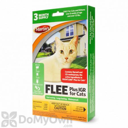 FLEE Plus IGR for Cats