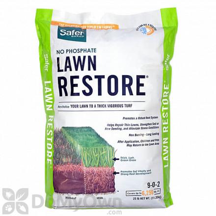 Safer Lawn Restore Fertilizer