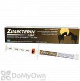 Zimecterin Gold Dewormer Paste for Horses