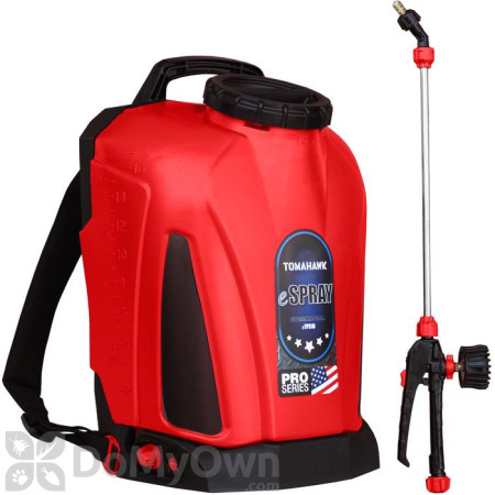Tomahawk Power Battery Operated 4.75 Gallon Backpack Sprayer