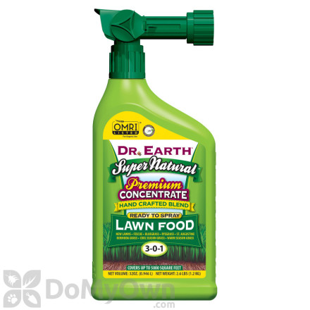 Dr. Earth Super Natural Lawn Fertilizer RTS
