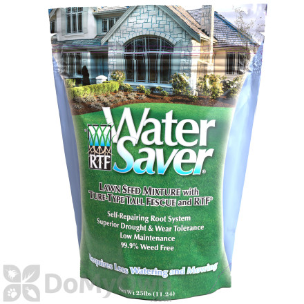 Water Saver with RTF Turf Type Tall Fescue - 25 lb