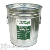 Alligator Brand Galvanized 6 Gallon Trash Can (Can Only)
