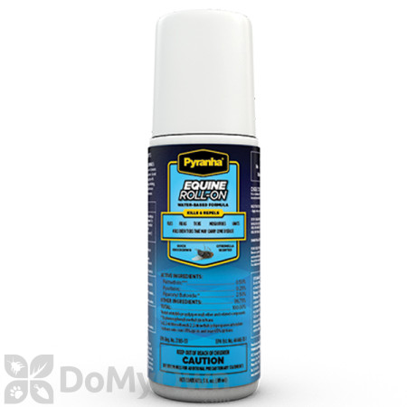 Pyranha Equine Roll - On Fly Repellent